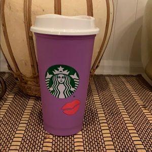 Starbucks Colour change lips new for hot